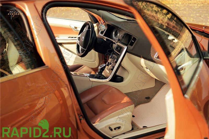 """ЭВА коврики """"EVA Smart"""" в салон и багажник - 10%"""