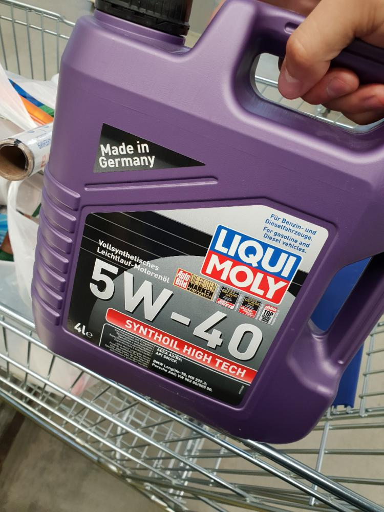 Масло Liqui Moly 5W40 подойдет на Rapid 2018?