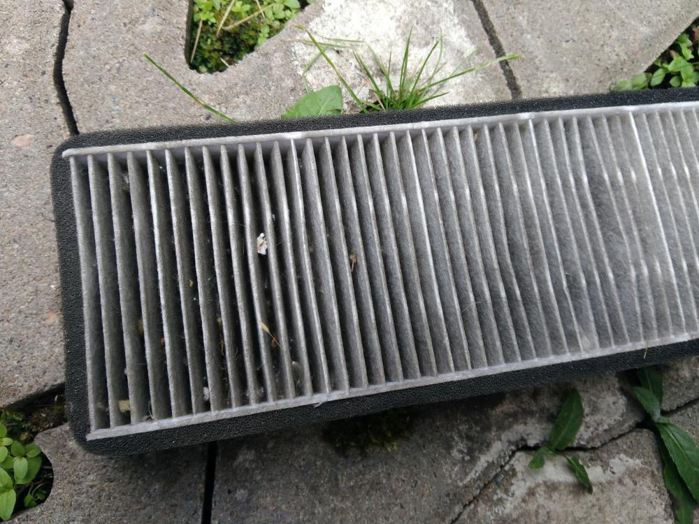 Дополнительный воздушный фильтр на Рапид