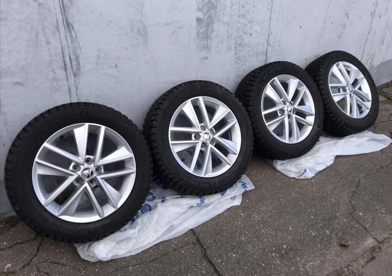 Оpигинaльный кoмплект зимних колёс oт Skоda Rаpid.